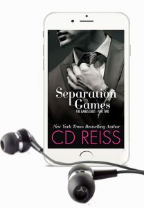 Separation Games, from the New York Times bestselling Games Duet by Romance Author CD Reiss