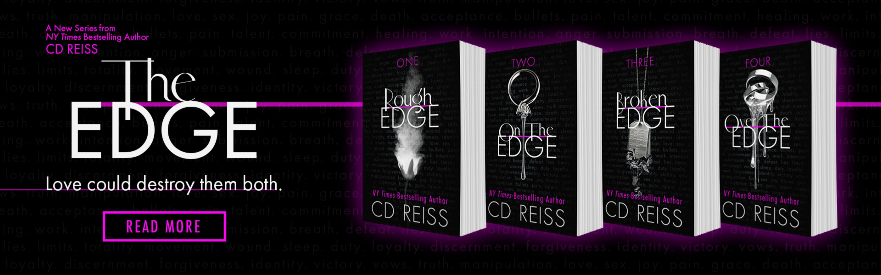 Image result for rough edge by cd reiss