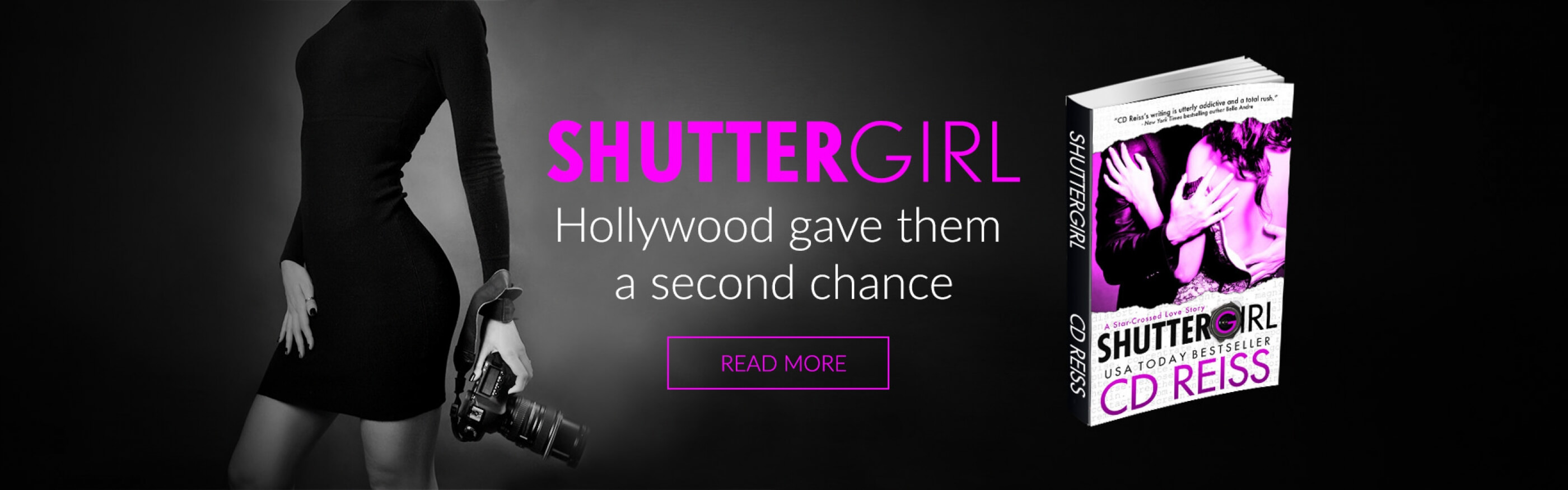 Shuttergirl by NYT Bestselling Romance author CD Reiss