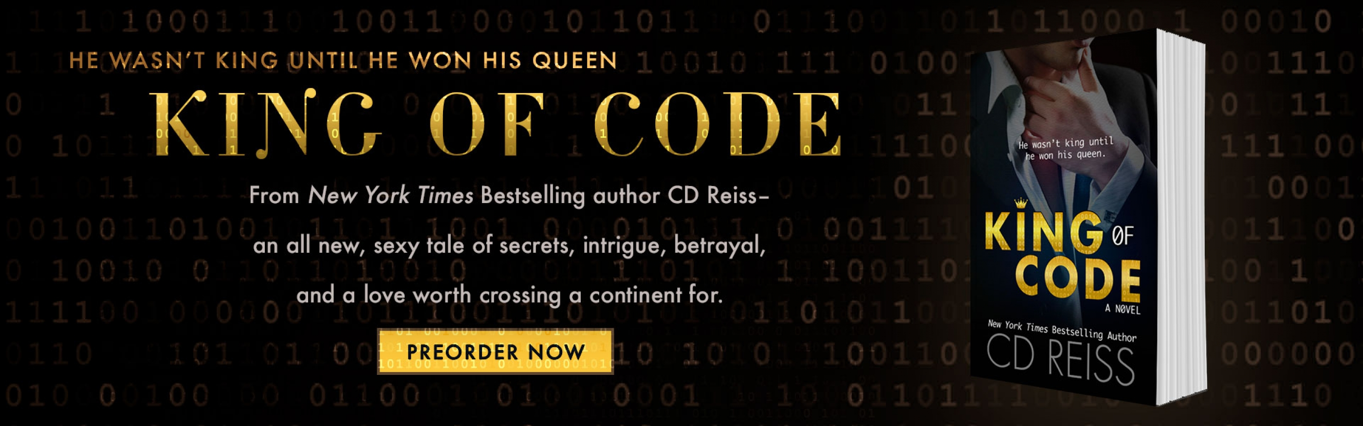 King of Code - the first in a new series of sexy standalones from New York Times Bestselling author CD Reiss