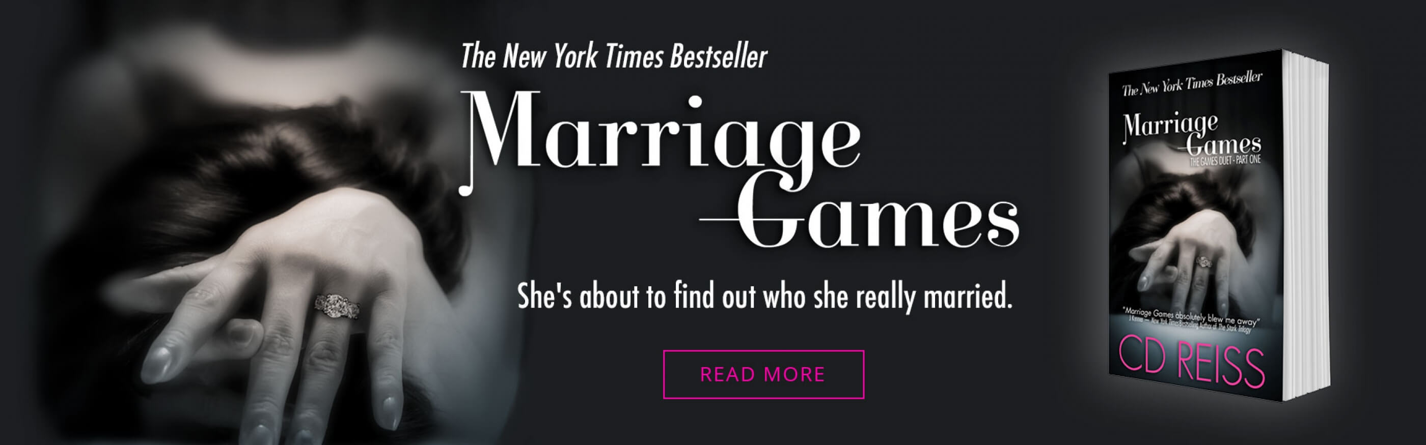 New York Times Bestseller Marriage Games by CD Reiss