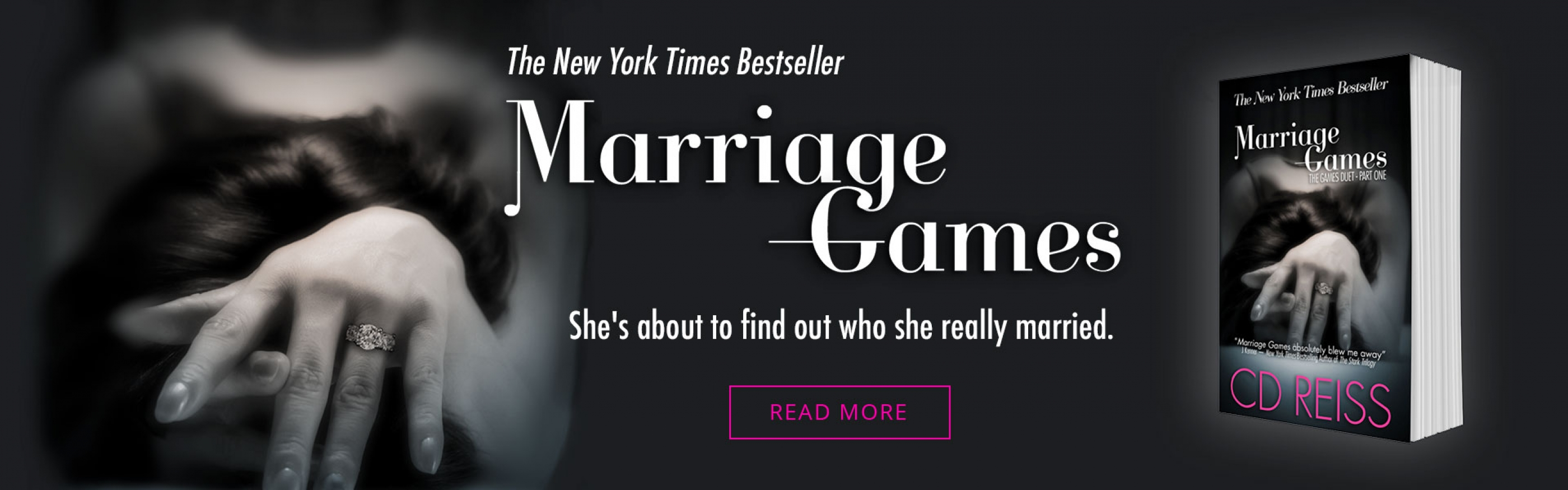 Marriage Games - Book One in the Games Duet by Bestselling Romance Author CD Reiss