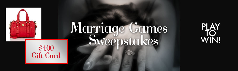 Marriage Games quiz and sweepstakes! - C D  Reiss