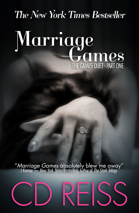 the New York Times Bestseller, Marriage Games - book One in the Games Duet by Romance Author CD Reiss