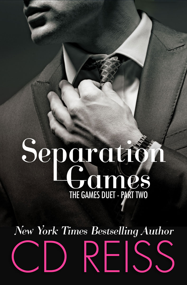 Separation Games - book Two in the Games Duet by New York Times Bestselling Romance Author CD Reiss