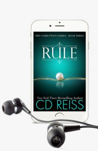 Rule - Audiobook, part of the Corruption series by author CD Reiss